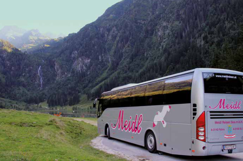 Advent Mariazell mit Bus & Himmelstreppe