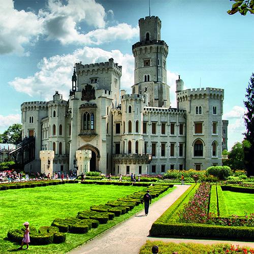 "2 Tage Böhmische Highlights ""Schloss Hluboka & Budweis"""