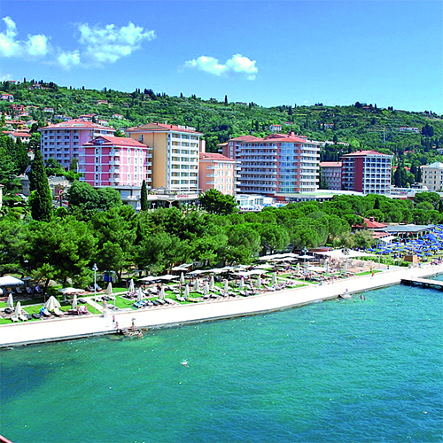 6 Tage Verwöhnurlaub Rosenküste Portoroz - Hotel LifeClass Riviera