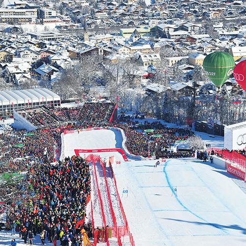 2 Tage Hahnenkammrennen in Kitzbühel