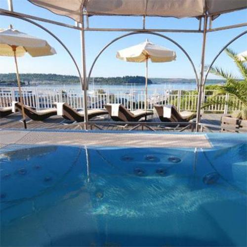 6 Tage Entspannen an der Rosenküste Portoroz im Grand Hotel