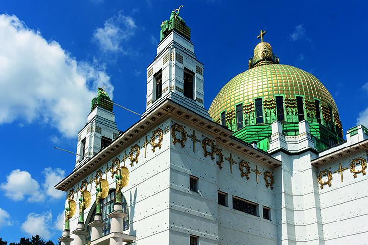 Otto Wagner Kirche & Palmenhaus Wien